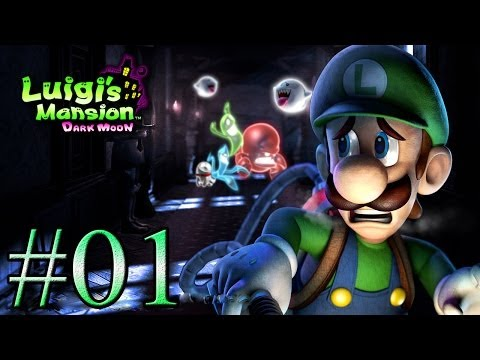 Let's Play : Luigi's Mansion Dark Moon - Parte 1