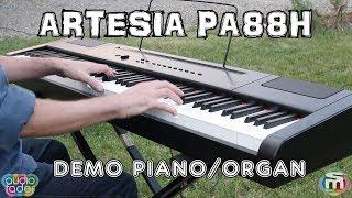 Artesia PA88H - Demo Grand Piano e Organ