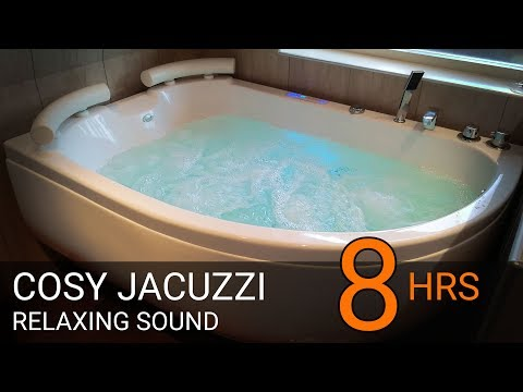 JACUZZI - 8 HOURS  -  RELAXING SOUNDS - over- & underwater shots