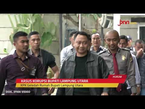 Geledah Rumah Bupati Lampung Utara, KPK Sita Uang Dolar dan Rupiah
