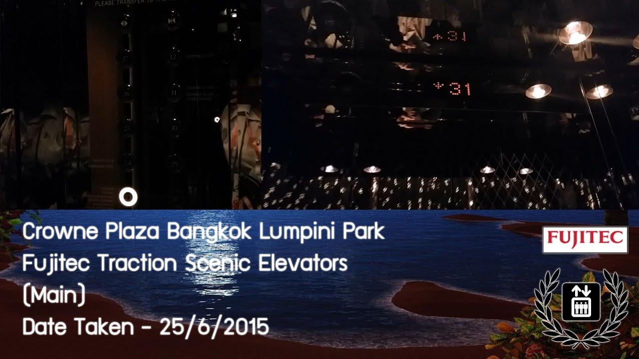 Rooms: EPIC Fujitec Traction Scenic Elevators @ Crowne Plaza
