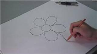 Drawing Lessons : How to Draw Simple Flowers for Kids