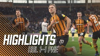 Hull City 1-1 Preston North End | Highlights