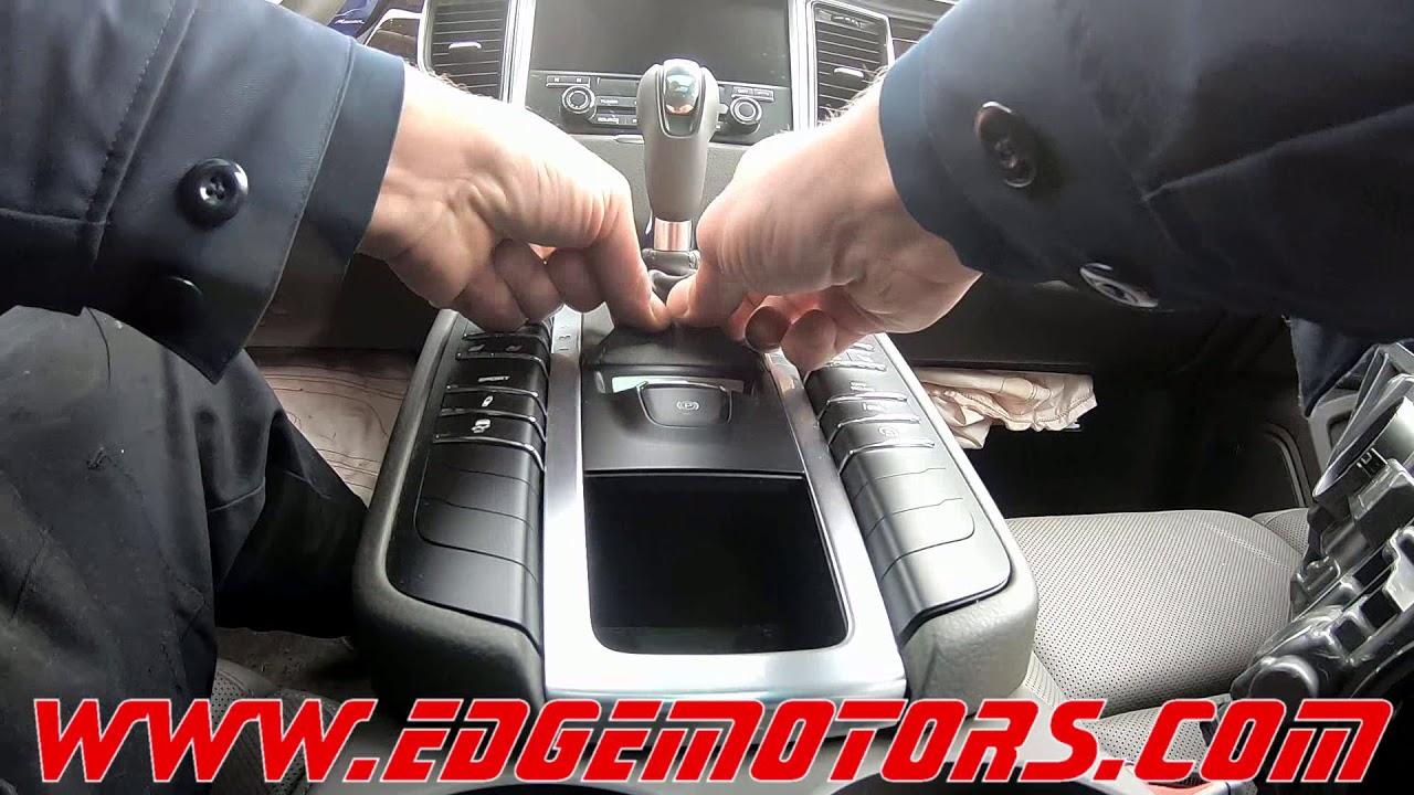 Porsche Macan S Shifter Interlock Parking Gear Release by Edge Motors