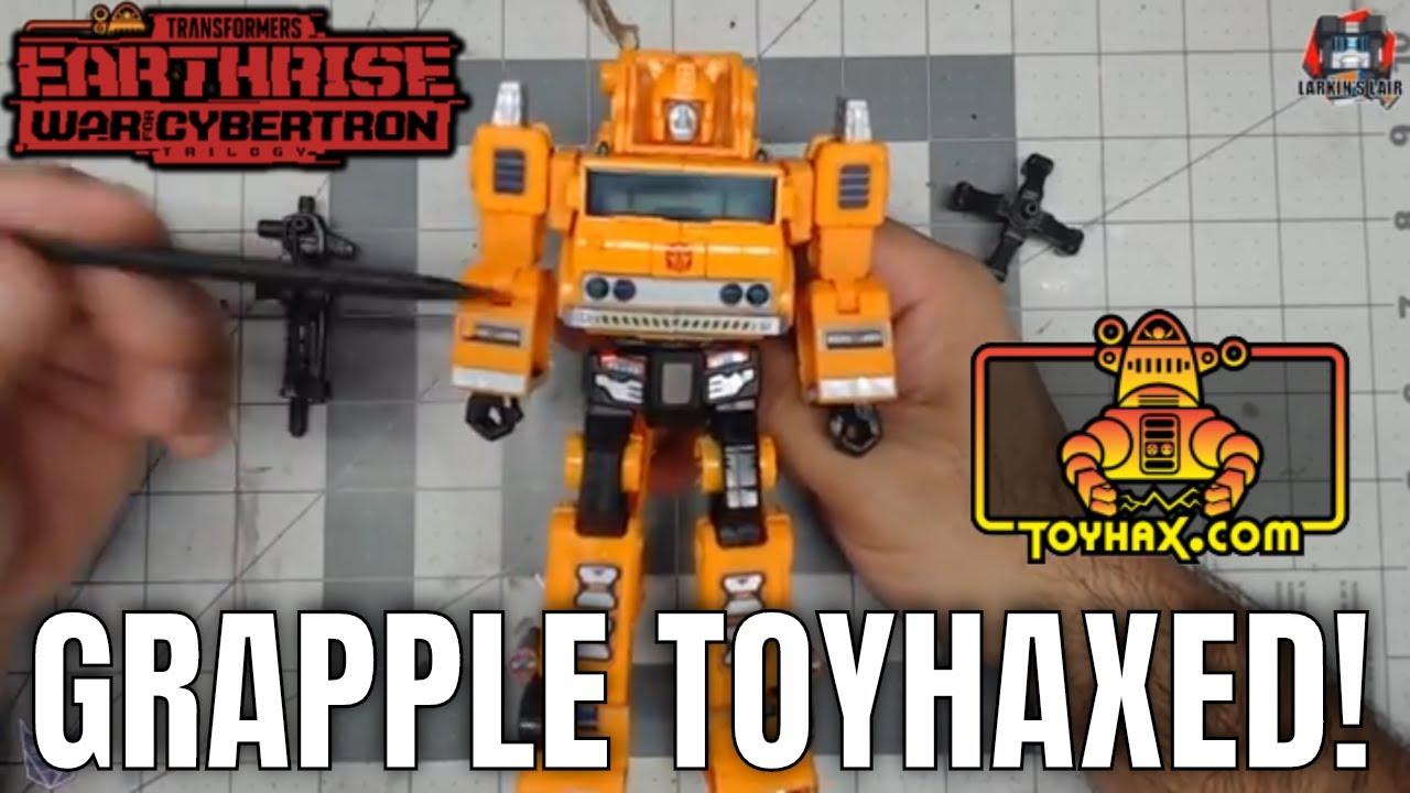 Earthrise Grapple Toyhax Set Review, Larkin's Lair