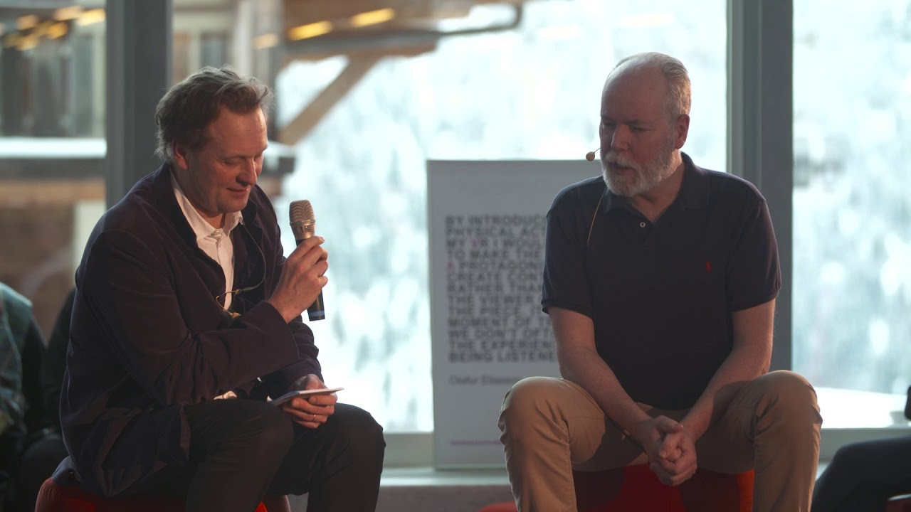 Daniel Birnbaum & Douglas Coupland in Conversation at the 2018 Verbier Art Summit