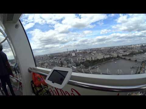 London eye in 4k