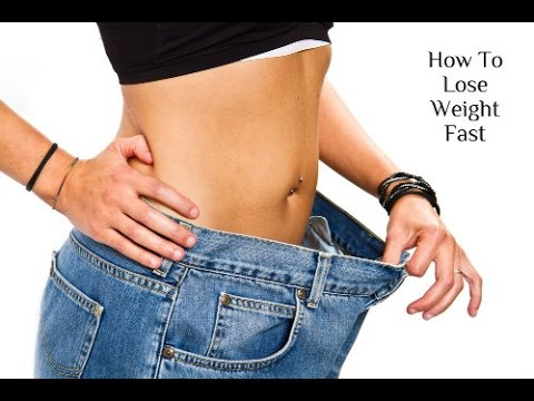 how to lose weight fast five pounds or more in a week