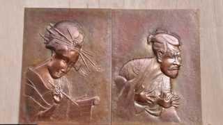 四枚の浮世絵