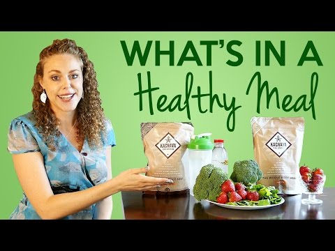 What's a Healthy Meal? Are Meal Replacement Drinks Healthy? Protein Shakes, Weight Loss Tips
