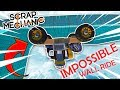 Impossible WALL RIDE CHALLENGE!! - Scrap Mechanic Challenge Mode!! W/AshDubh