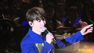 150607 D&E Asia Tour in Taiwan - Talk-2(翻譯姐姐表示錢難賺) + Break Down