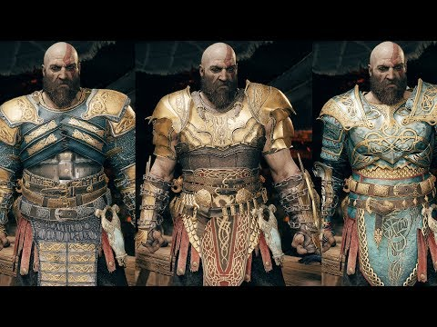 God of War – All Armor Sets Showcase