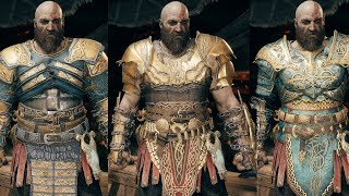 God of War - All Armor Sets Showcase