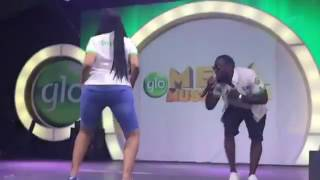 See How Ghanian Actress Juliet Ibrahim Shakes Her Booty For Timaya