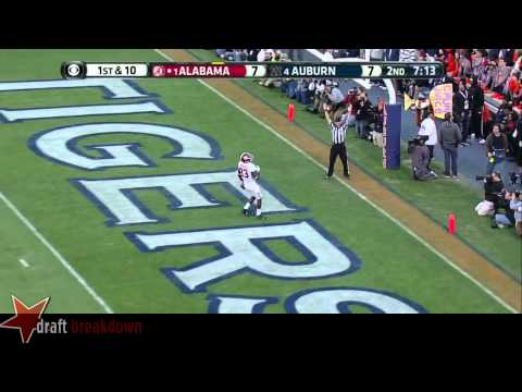 #10 AJ McCarron, QB, Alabama Vs Auburn '13