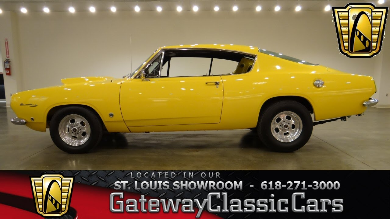 Cars For Sale St Louis >> 1967 Plymouth Barracuda - Gateway Classic Cars St. Louis - #6291 - YouTube