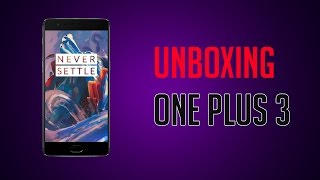 OnePlus 3 Unboxing | By DroidEagle Video