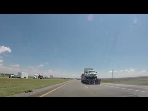 Albuquerque N.M. to Dallas TX. Road trip Time lapse video