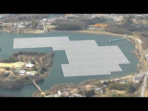 Making a splash: Japan's floating solar panels