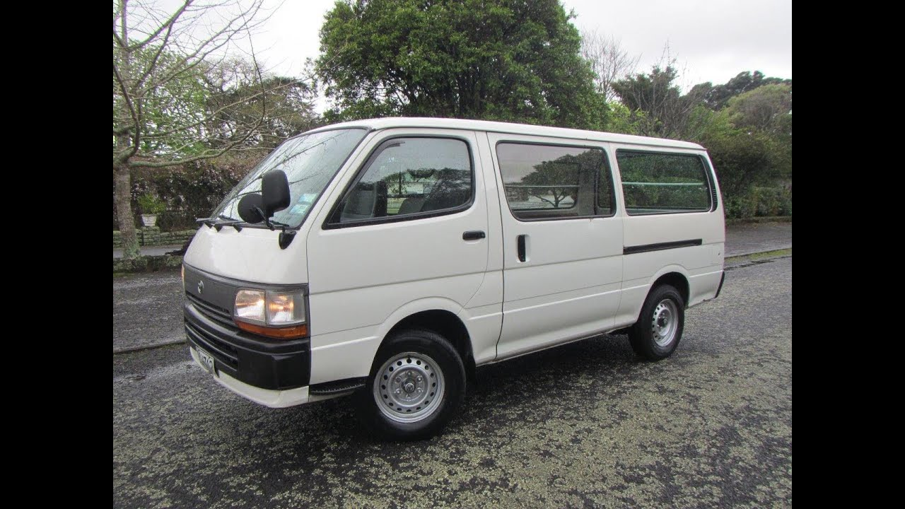 77fb4db316 1996 Toyota Hiace DX 5 Door LWB Diesel Van  1 RESERVE!!!   Cash4Cars Cash4Cars     SOLD