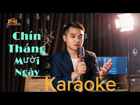 [KARAOKE] Mẹ ƠI(Chín Tháng Mười Ngày) | Nhật Linh [Official] | Beat Chuẩn