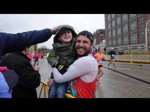 A Virtual Boston Marathon Run in the Memory of Others