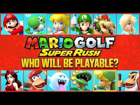 Mario Golf: Super Rush | 10 Character Predictions
