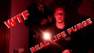 REAL LIFE PURGE! (SCARY)