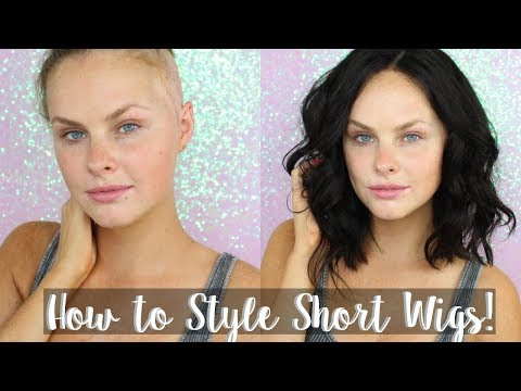 How to Style Short Wigs! | Super Easy!!