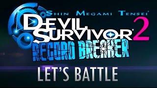 Devil Survivor 2 Record Breaker - Battle Trailer