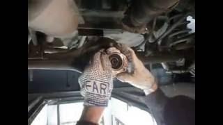 видео ВАЗ 2107 замена сальника редуктора заднего моста
