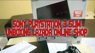 Sony Playstation 3 Slim (Unboxing Lazada Online Shop)