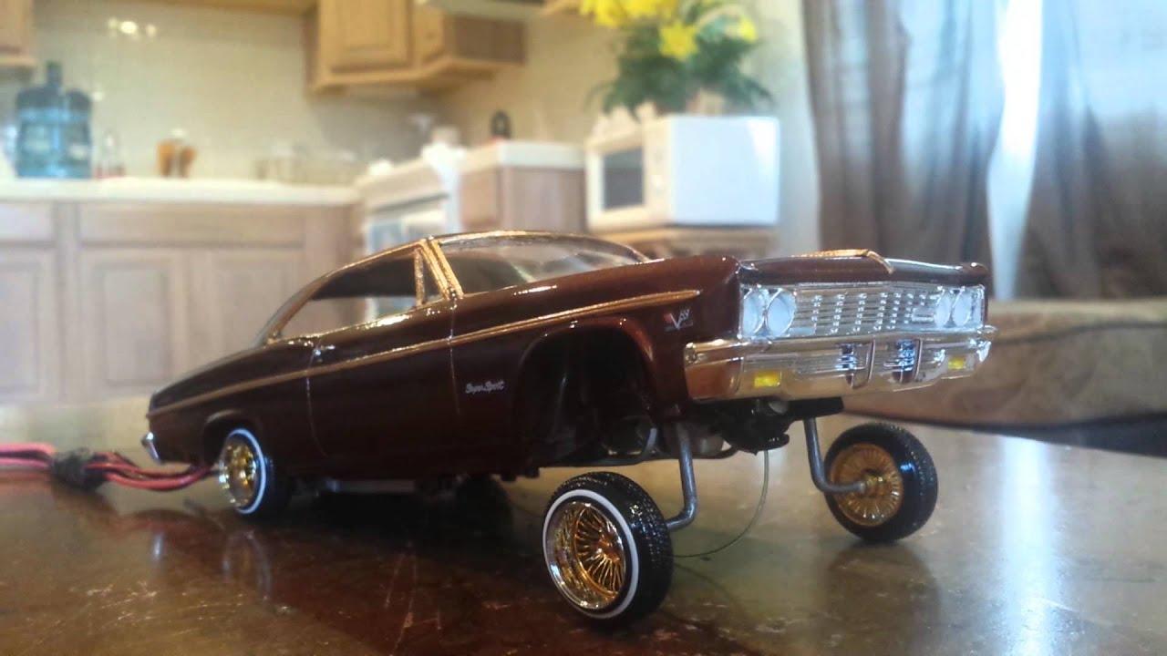 "66"" Impala lowrider model car 3 wheel hopper. - YouTube"