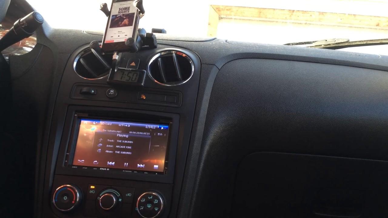 """2009 Chevrolet HHR Pyle PLDNV695 Double Din In-Dash 7"""" DVD"""
