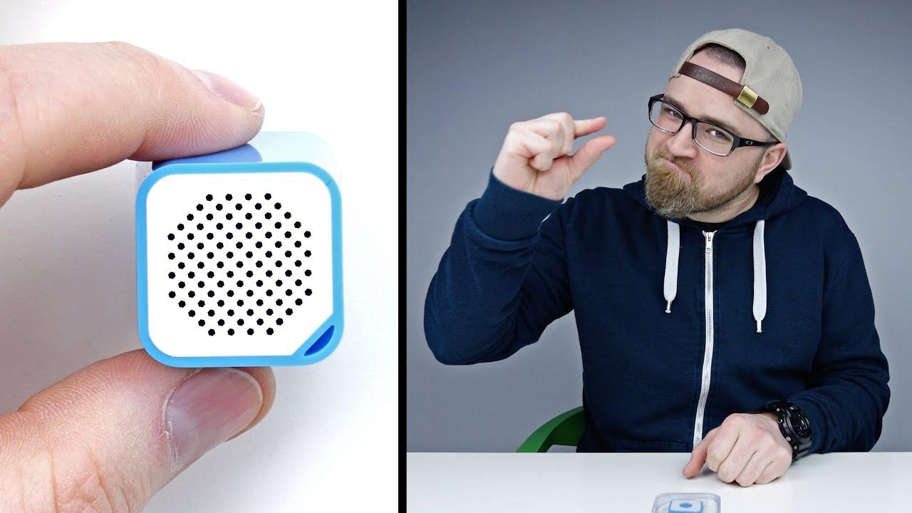 World S Smallest Bluetooth Speaker Youtube