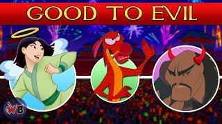 Mulan Characters: Good to Evil
