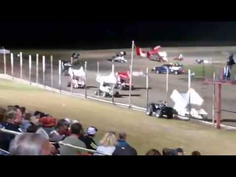 NOSA Devils Lake Speedway Feature 07 22 2017