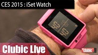 iSet Watch : une montre connectée pour les tennismen