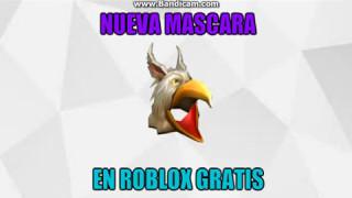 Nueva Mascara En Roblox