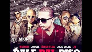 Watussi Ft Jowell, Ñengo Flow, Voltio & JQ - Dale Pal Piso (Official Remix) [Letra/Lyrics]