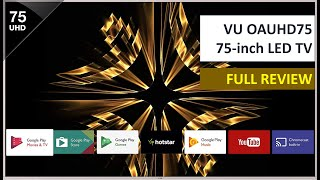 VU OAUHD75 75 inch LED TV