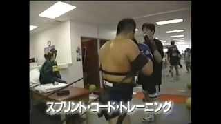 K-1GP'98の準々決勝のピーター・アーツと佐竹雅昭の煽り映像です。