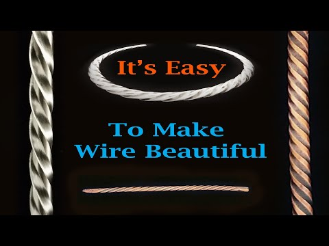 Make Elegant Twisted Wire Quickly and Inexpensively