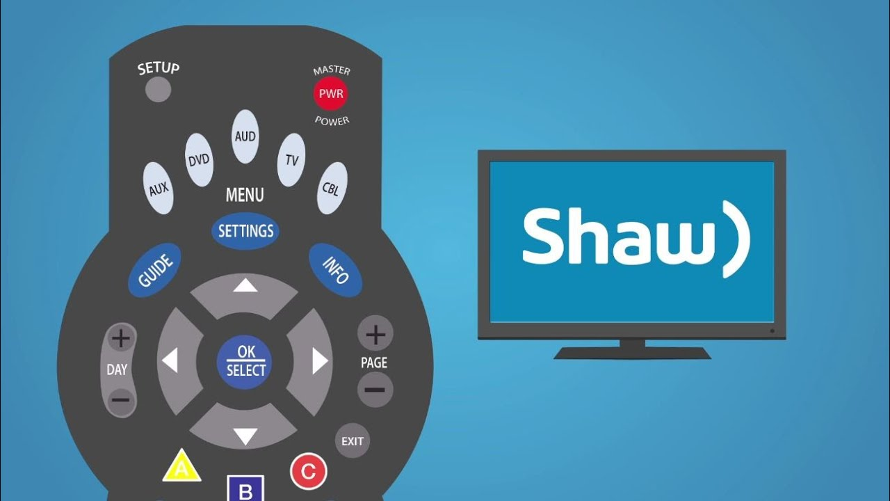 Programming your Shaw remote I Support & How To I Shaw - YouTube