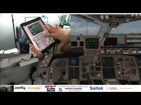 Flight Factor Boeing 767 Cold and Dark Start  Part 1