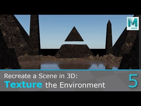 Recreate A Concept Art In 3D: Texture The Environment