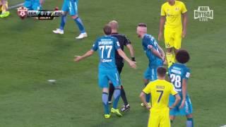 РФПЛ. Премьер-лига 2016/2017. 3-й тур. Зенит-Ростов (3:2). Обзор матча.