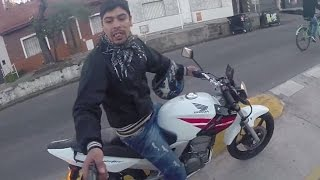 Attempted robbery at gunpoint caught on GoPro!!!(Subscribe to follow our 195 country journey!** :) Conecte con nosotros! https://www.facebook.com/GlobalDegreeTV I was on a bike tour in a rough part of ..., 2014-09-16T09:20:07.000Z)
