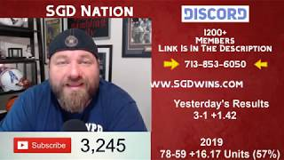 MLB Picks Today August 18th Expert Sports Betting Predictions 8-18-19 Sports Gambling Daily